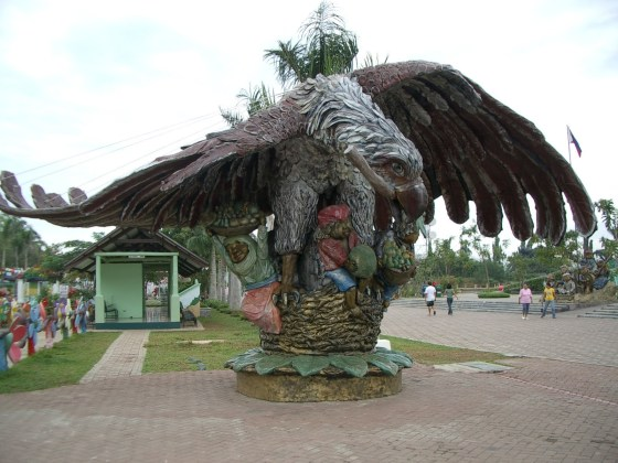 Sculpture of the Philippine Eagle