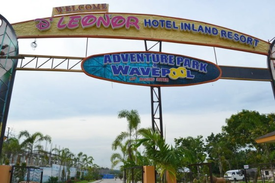 D'Leonor Inland Resort and Wavepool, Davao City