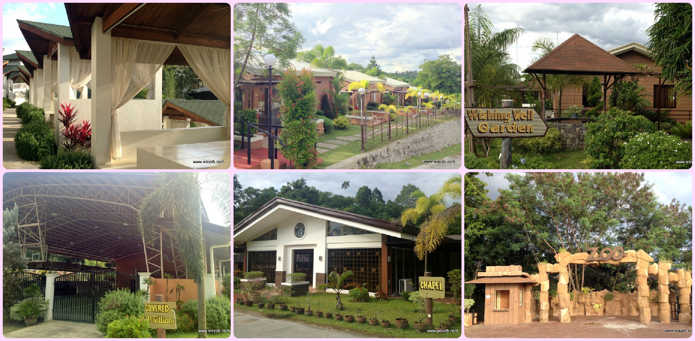 Open Cottages Rooms Wishing Well Covered Court Chapel And Zoo