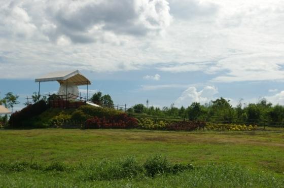 View of Davao Zorb Park